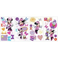 York Wallpaper RMK1666SCS Kids Book Minnie Bow-Tique Wall Decals