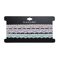 Blackheart Pastel Lace Choker Set