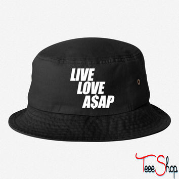 Live Love A$APr bucket hat