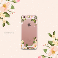 'Delight' - Clear TPU Case Cover
