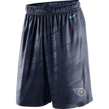 Tennessee Titans Nike Fly Warp Performance Shorts – Navy Blue