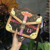 LV New Popular Women Shopping Bag Leather Crossbody Satchel Shoulder Bag Handbag I-AGG-CZDL
