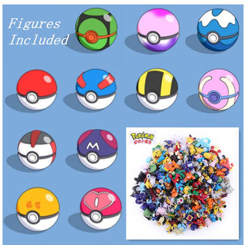 1Pc Hand-sized Anime Pokemon Ball Figures ABS Action Figures PokeBall Toys Super Master Children Toy Juguetes 7cm