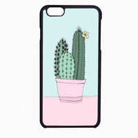 pastel cactus FOR IPHONE 6 CASE NEWEST **