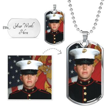 Customer Personalized Luxury Dog Tags