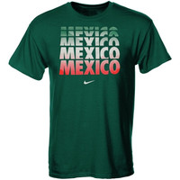 Mexico Nike Core Slim-Fit T-Shirt – Green