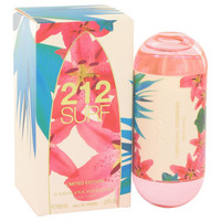 212 Surf Perfume by Carolina Herrera 2 oz Eau De Toilette Spray Limited Edition 2014