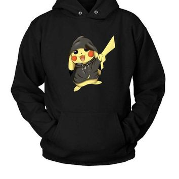 DCCKL83 Pikachu Gangster Hoodie Two Sided