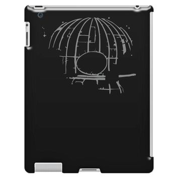 death skull iPad 3 and 4 Case