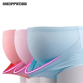 SMDPPWDBB Belly Bands Useful Pregnant Cotton High Waist Knickers Support belt Stomach Lift Freely Adjusts Maternity Panties