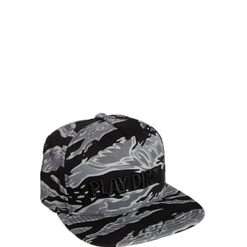 Undefeated Play Dirty Camo Snapback Cap