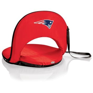 New England Patriots - Oniva Portable Reclining Seat (Red)