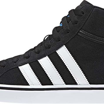 adidas Americana Vin Mid Skate Shoes - Black/Running White/Black