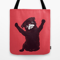 Hug Tote Bag by Huebucket