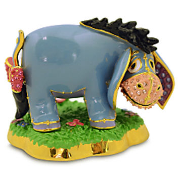 Disney Parks Eeyore Jeweled Figurine by Arribas Brothers New with Box