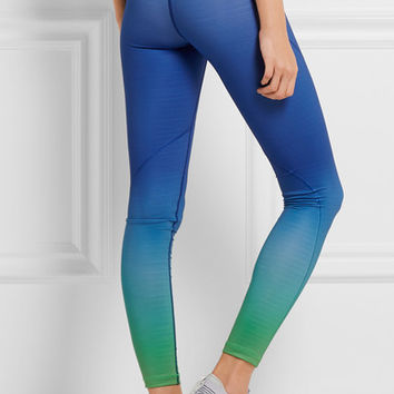Nike - Pro Hyperwarm ombré Dri-FIT stretch-jersey leggings