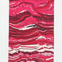 Magical Thinking Rock Handmade Rug- Pink