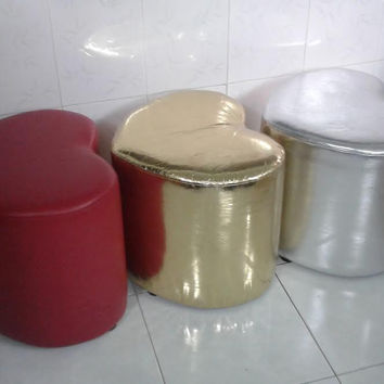 Love Seat Chair Stool 3 colors Made in Vietnam