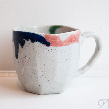 Milkshake Mountain Ceramic Mug