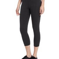 Calvin Klein Performance Women's Crop Legging with Side Shirring