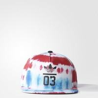 Adidas Originals Tie-Dye Snap-Back Cap Hat FREE SHIPPING S20345