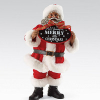Possible Dreams African American Merry Little Christmas Santa Figurine | Dillards