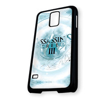 Assassin's Creed 3 Style On Ice Samsung Galaxy S5 Case