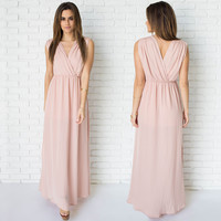 Crush On Blush Pink Maxi Dress