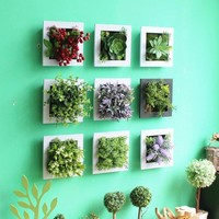 SIMULATION ORNAMENT PLANT WALL HANGING