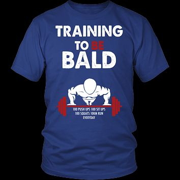 One Punch Man - Saitama Training to be bald - Men Short Sleeve T Shirt - TL00917SS