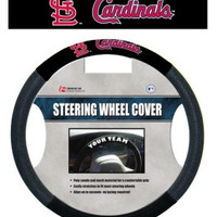 St. Louis Cardinals Steering Wheel Cover - Mesh