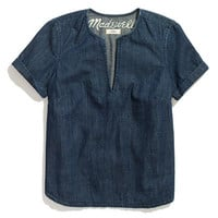 Denim Tee - blouses - Women's SHIRTS & TOPS - Madewell
