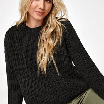 ONETOW Sweaters for Women, Off the Shoulder Sweaters, Cozy Sweaters | PacSun