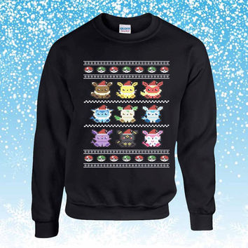 Pokemon Ugly Christmas Sweater sweatshirt unisex adults