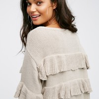 Free People El Dorado Poncho Dress