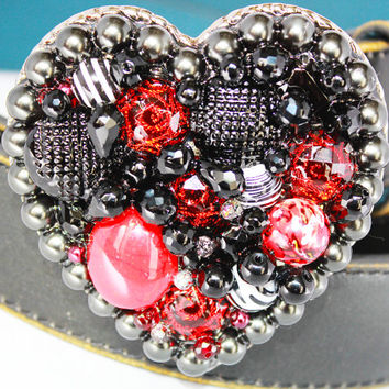 Heart Belt Buckle - Women's Belt Buckle - Designer Belt Buckle