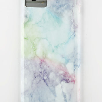 AUDIOLOGY Rainbow Marble iPhone 6/6S/7 Case | Tech + Phone Accessories