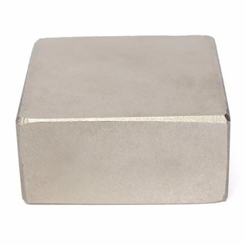 1pc N52 Super Strong Neodymium Magnets 45*45*25mm Powerful Square Block Permanent Rare Earth Magnet 25KG Mayitr