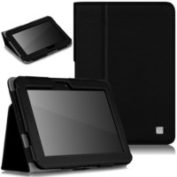 CaseCrown Bold Standby Case (Black) for 2012 Amazon Kindle Fire HD 7 Inch (Built-in magnet for sleep / wake feature)