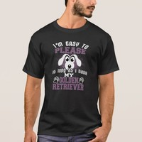 Funny Golden Retriever Dog Owners T-Shirt