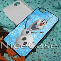 Olaf Frozen Disney for iPhone 4 / 4S / 5 / 5c / 5s Case Samsung Galaxy S3 / S4 Case Cover