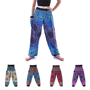 Printed Thai Harem Pants