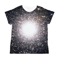 Tight Star Cluster Women's All Over Print T-Shirt> Girls Shirts (All-over Print)> The Universe by Douglas Fresh