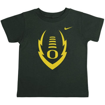 Oregon Ducks Nike Toddler Icon T-Shirt – Green - http://www.shareasale.com/m-pr.cfm?merchantID=7124&userID=1042934&productID=548206783 / Oregon Ducks