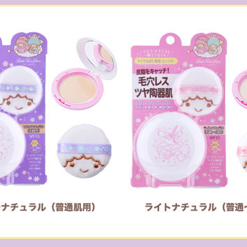 Oz or collaboration with cosmetics pressed powder [powder Presto Sanrio AC Angel color-based primer, makeup cosmetic face powder]