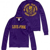 LSU Track Jacket - Victorias Secret PINK - Victoria's Secret