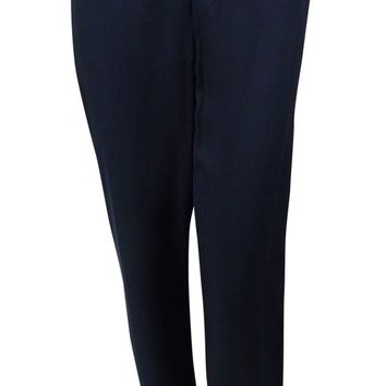 Tommy Hilfiger Women's Twill Pull-On Jogger Pants