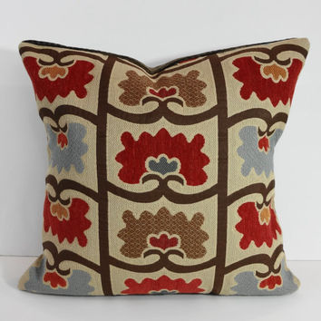 Chenille Throw Pillow Covers : Decorative Chenille Throw Pillow Cover, from Pillows4fun