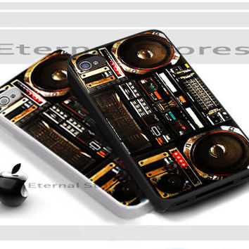BOOMBOX Ghetto Blaster - iPhone 4/4s Case - iPhone 5 Case - Samsung Galaxy S3 case - Samsung Galaxy S4 case