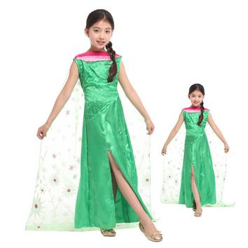 Fairy Tales Girls fairy Cosplay kids princess Costume Children's day Anime Role play Carnival Christmas Masquerade party dress